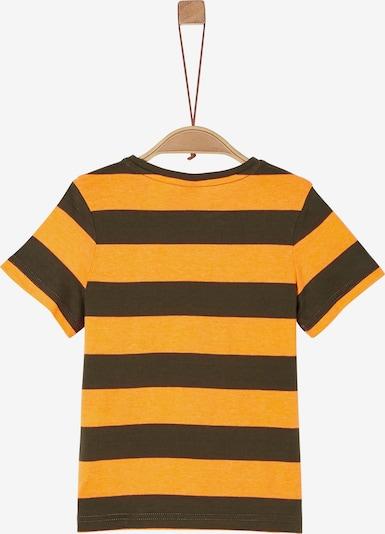 s.Oliver T-Shirt in braun / gelb, Produktansicht