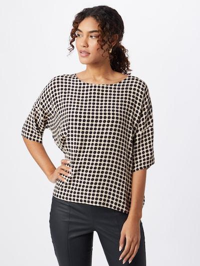 Esprit Collection Bluse in beige / navy / weiß, Modelansicht