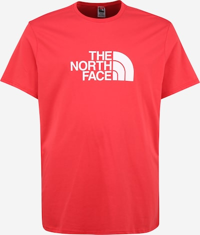 THE NORTH FACE Shirt in de kleur Lichtrood / Wit, Productweergave