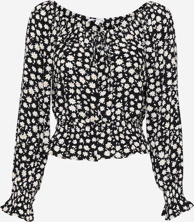 ABOUT YOU Bluse 'Mala' in mischfarben / schwarz, Produktansicht