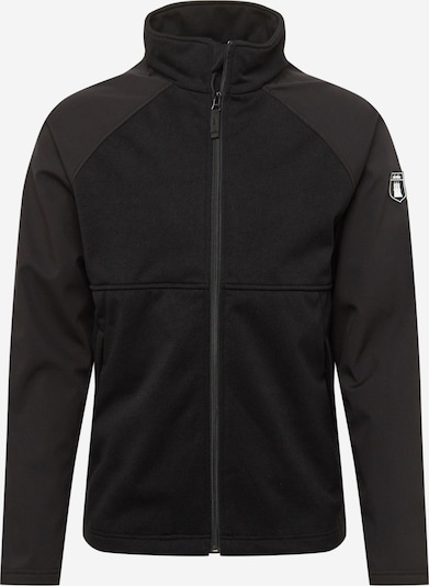 Derbe Jacke in schwarz, Produktansicht