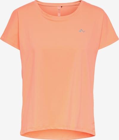 ONLY PLAY Camiseta funcional 'Aubree' en gris / naranja pastel, Vista del producto