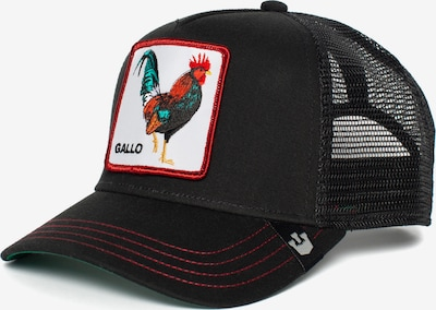 Cappello da baseball GOORIN Bros. di colore rosso / nero / bianco, Visualizzazione prodotti
