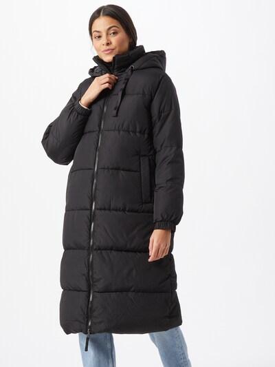 Žieminis paltas iš GAP , spalva - juoda: Vaizdas iš priekio
