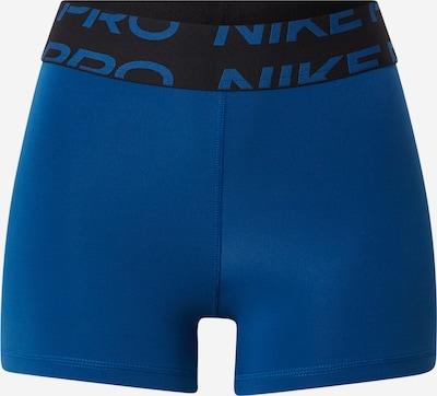 NIKE Športne hlače | modra / črna barva, Prikaz izdelka