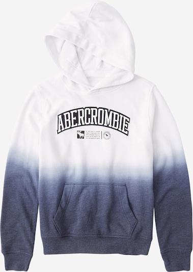 Abercrombie & Fitch Sweatshirt in navy / weiß, Produktansicht