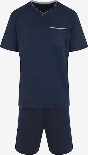 SEIDENSTICKER Pyjama in navy, Produktansicht