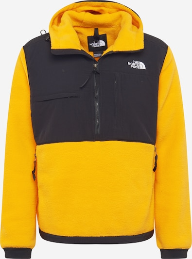 THE NORTH FACE Fleecepullover  'Denali 2' in gelb / schwarz, Produktansicht