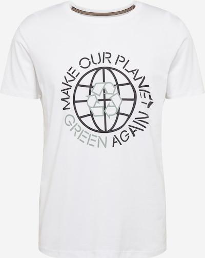 ESPRIT T-Shirt en vert / noir / blanc, Vue avec produit