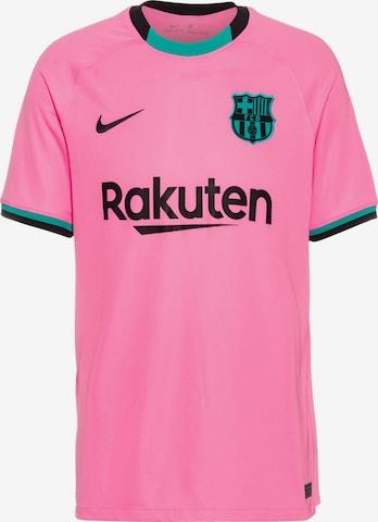 NIKE Trikot 'FC Barcelona 20-21 3rd' in Pink
