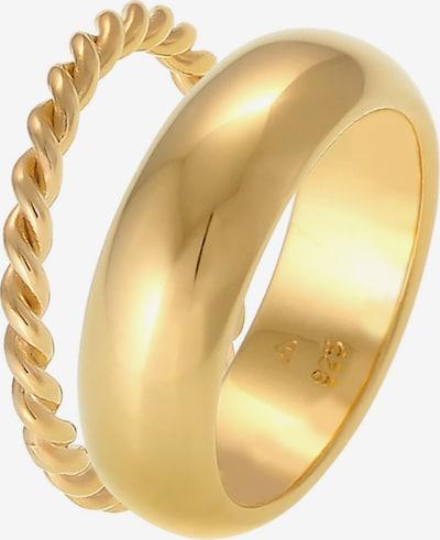ELLI PREMIUM Ring in goldgelb, Produktansicht