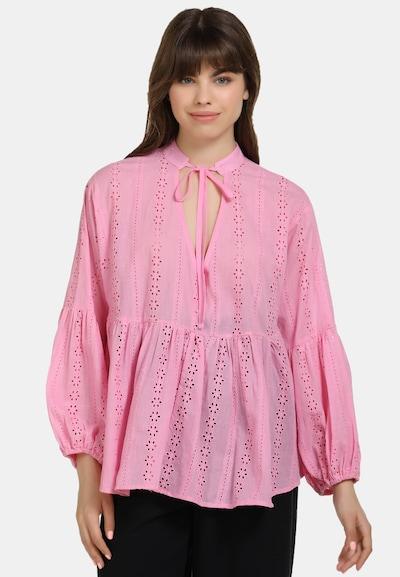 MYMO Bluse in lila, Modelansicht