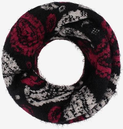FELIPA Écharpe tube en rouge / noir / blanc, Vue avec produit