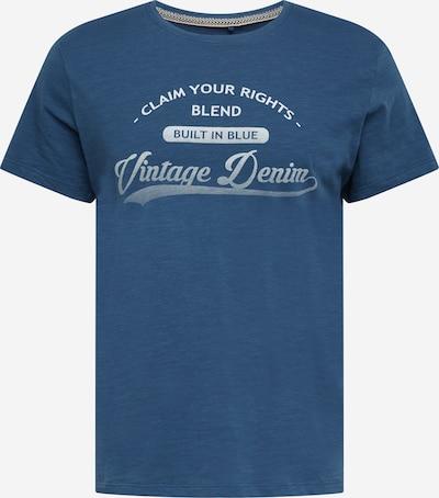 BLEND T-Krekls debeszils / balts, Preces skats