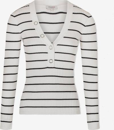 Morgan Trui in de kleur Zwart / Wit, Productweergave