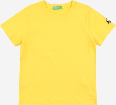 UNITED COLORS OF BENETTON Shirt in gelb / schwarz, Produktansicht