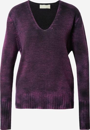 120% Lino Jersey en navy / lila oscuro, Vista del producto