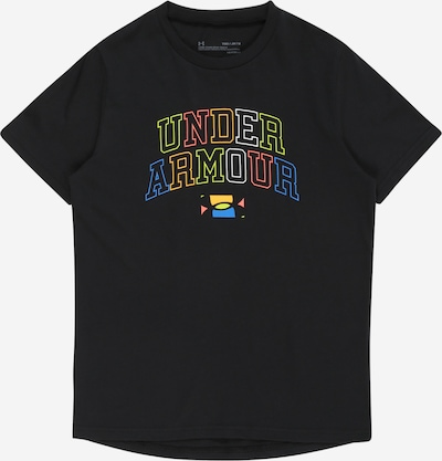 UNDER ARMOUR Functional shirt in mixed colours / black, Item view