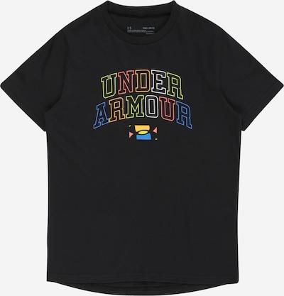 UNDER ARMOUR Sportshirt in mischfarben / schwarz, Produktansicht