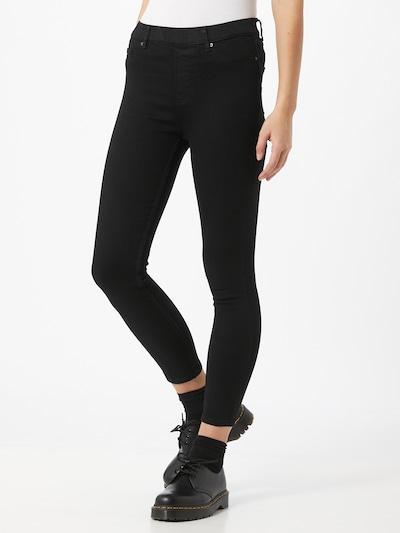 Hailys Jeggings in de kleur Zwart, Modelweergave