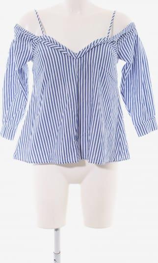 Bardot Langarm-Bluse in S in blau / weiß, Produktansicht