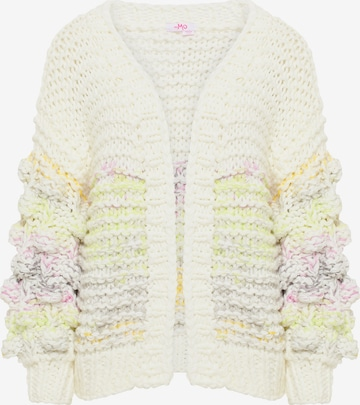 MYMO Knit Cardigan in White