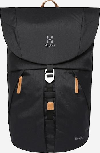 Haglöfs Rucksack in schwarz, Produktansicht