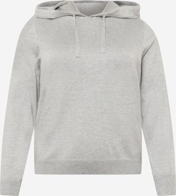 Vero Moda Curve Sweatshirt 'EDITH' in Grau