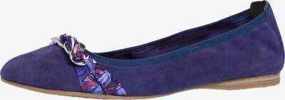 TAMARIS Ballerina värissä beige / sininen / marjat / tummanvioletti, Tuotenäkymä
