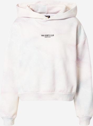 PARI Sweatshirt 'SPORTS CLUB' in Weiß