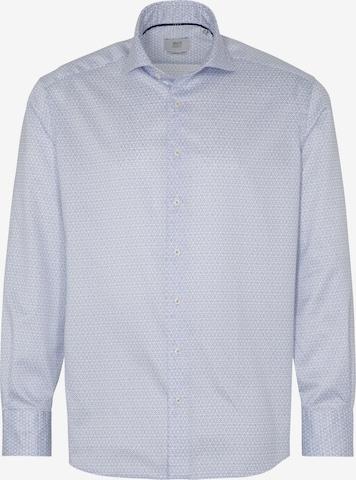 ETERNA Langarm Hemd COMFORT FIT in Blau
