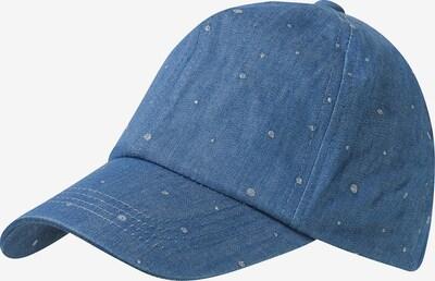 MAXIMO Cap in blue denim, Produktansicht