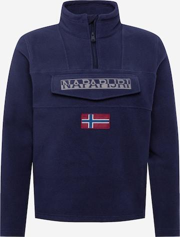 NAPAPIJRISweater majica 'TED' - plava boja