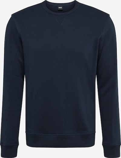 BOSS Sweatshirt 'Walkup 1' in blau, Produktansicht