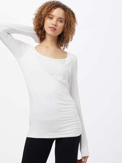 CURARE Yogawear Functional shirt in White, View model
