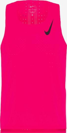 NIKE Shirt 'Aeroswift' in neonpink / schwarz, Produktansicht