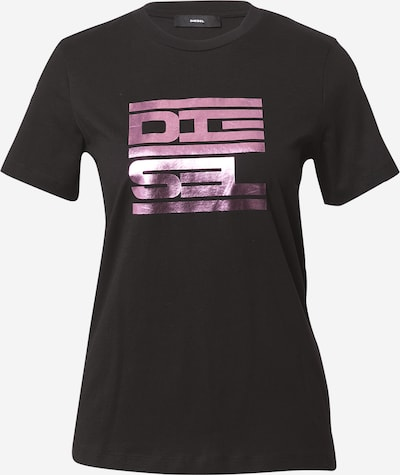 DIESEL Shirt 'Sily' in purple / fuchsia / black, Item view