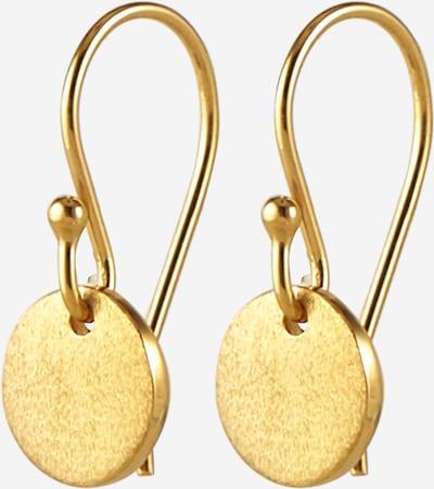 ELLI Pendientes 'Geo, Kreis' en oro, Vista del producto