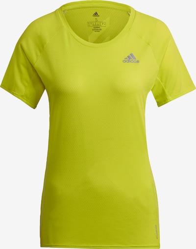 ADIDAS PERFORMANCE Functioneel shirt in de kleur Geel, Productweergave