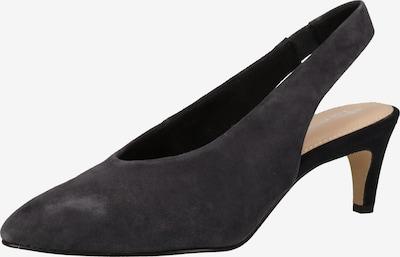 TAMARIS Slingpumps in de kleur Zwart, Productweergave