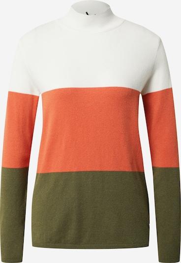 Key Largo Pull-over 'Boom' en kaki / orange / blanc, Vue avec produit