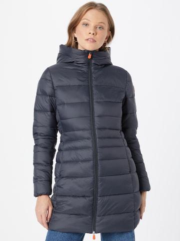 SAVE THE DUCK Zimný kabát 'RAVEN' - Sivá