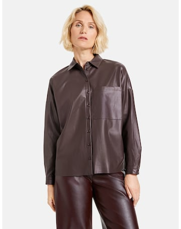 GERRY WEBER Blouse in Brown