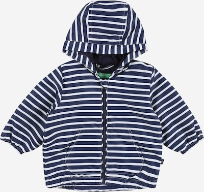 UNITED COLORS OF BENETTON Between-season jacket in navy / white, Item view