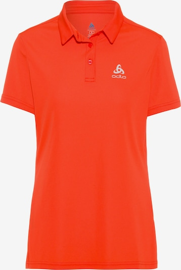 ODLO Funktionsshirt 'Cardada' in hellgrau / orange, Produktansicht