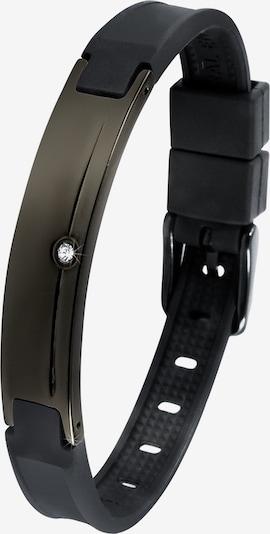 Lunavit Armband 'Preto' in de kleur Zwart, Productweergave