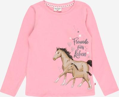 SALT AND PEPPER T-Shirt en mélange de couleurs / rose clair, Vue avec produit
