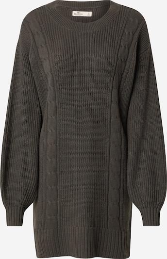 HOLLISTER Vestido de punto en gris oscuro, Vista del producto