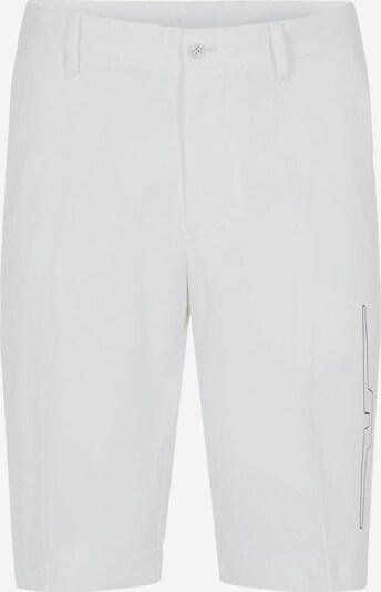 J.Lindeberg Pantalon de sport 'Chris' en noir / blanc, Vue avec produit