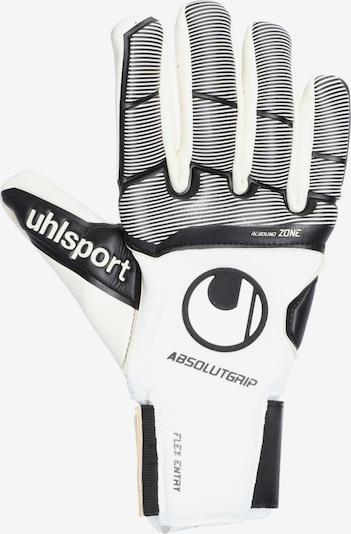 UHLSPORT Handschuh in creme / schwarz / weiß, Produktansicht